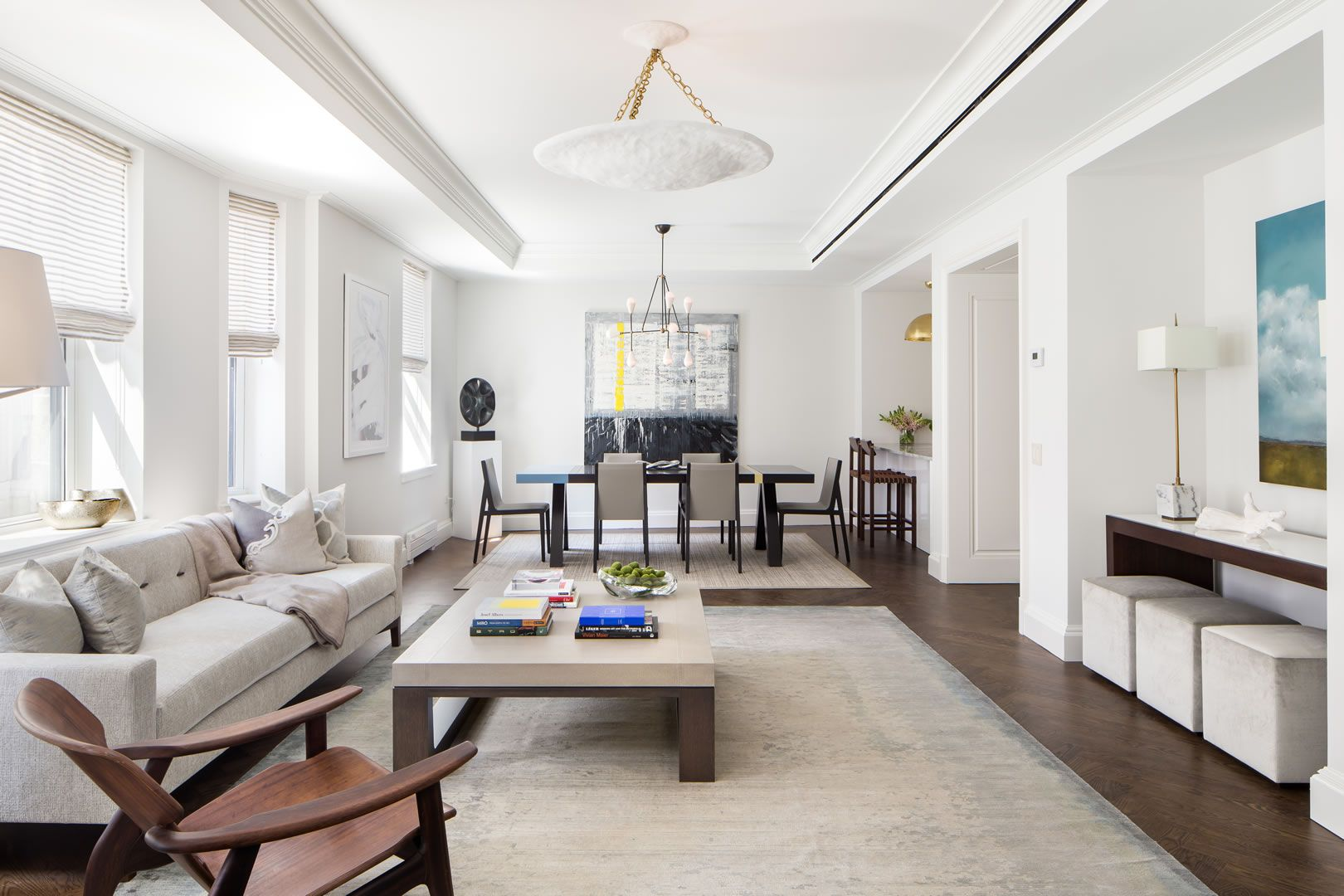 Upper West Side Apartments for Sale  The Chatsworth - Living Room ...