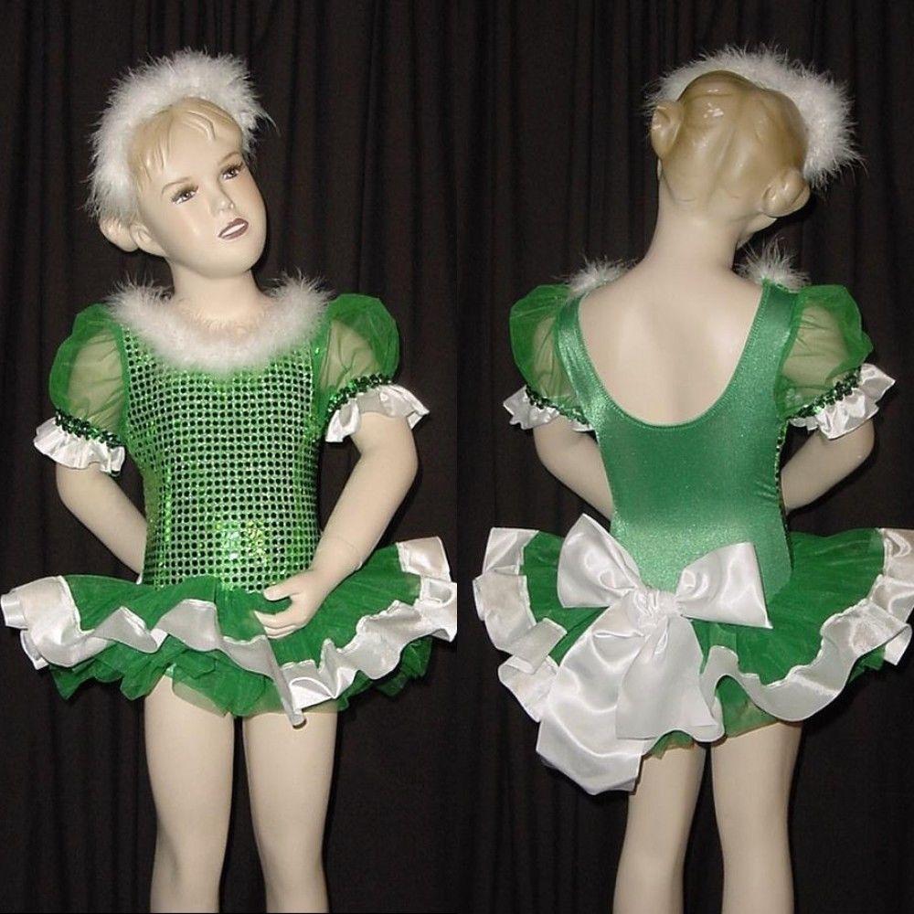Magic Moments Dance Costume Multi Color Sequin Ballet Tap Tutu CXS CM CXL AS XXL