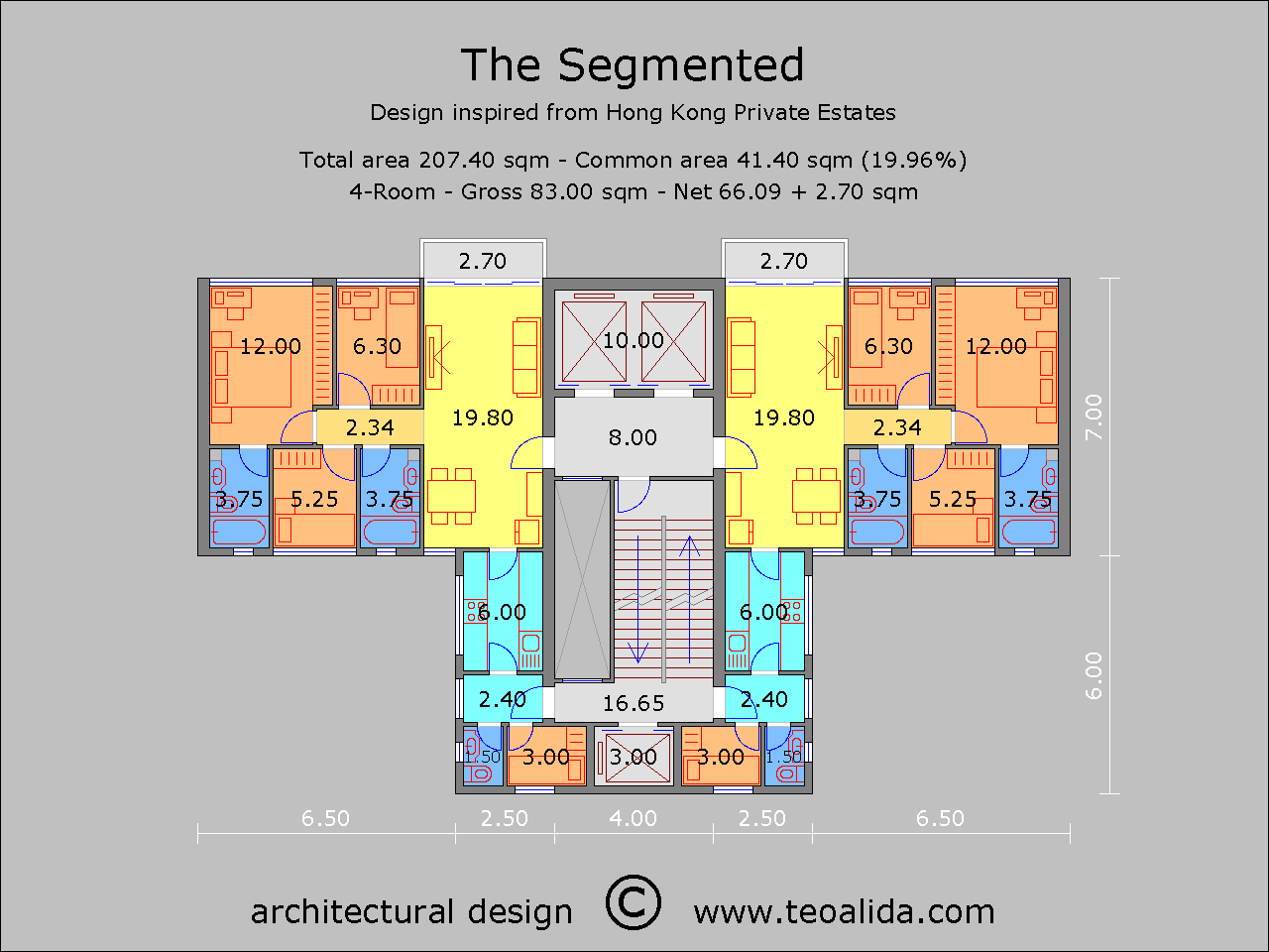 Apartment Plans 30 200 Sqm Designed By Me Teoalida S Website Apartment Plans Hotel Floor Plan Architectural Floor Plans