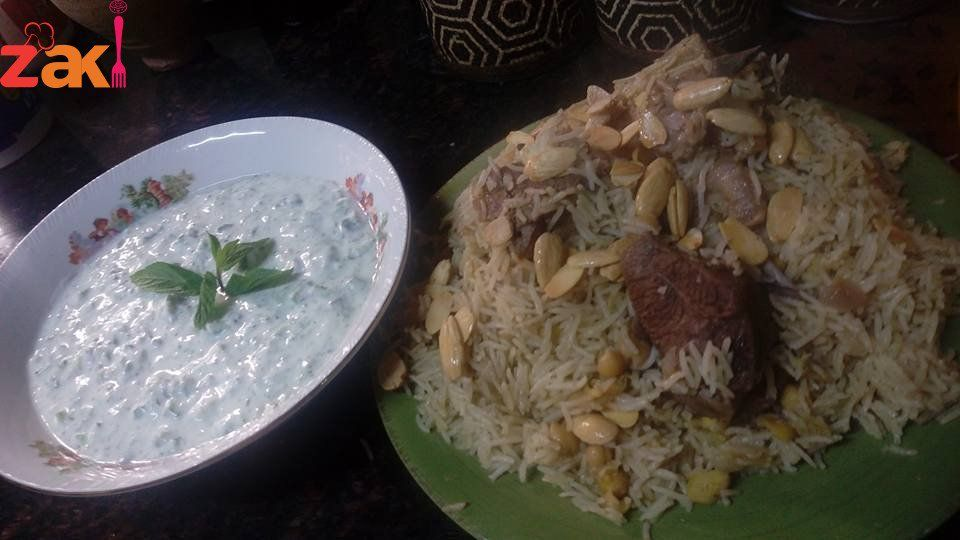طريقة عمل القدرة بالحمص واللحمة زاكي Middle Eastern Recipes Mediterranean Recipes Main Dishes