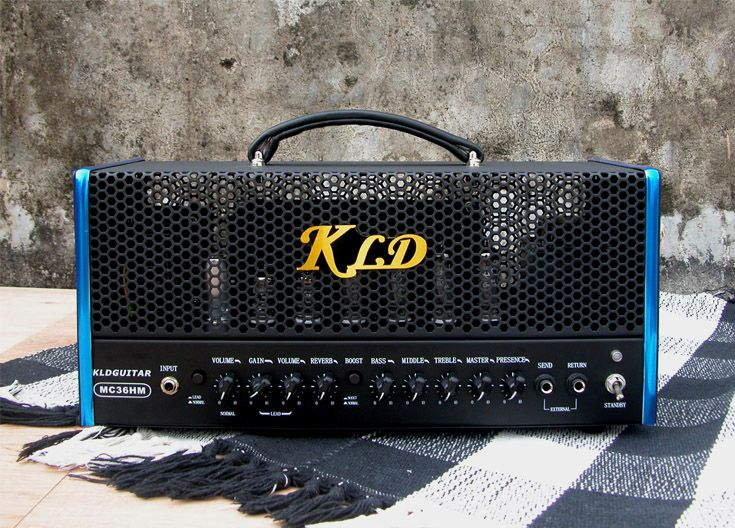 kldguitar mc 36h 36w dual channels modern tube guitar amp three 12ax7 four el84 kldguitar. Black Bedroom Furniture Sets. Home Design Ideas