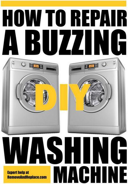 How To Fix A Washing Machine Making A Buzzing Noise | DIY - Tips