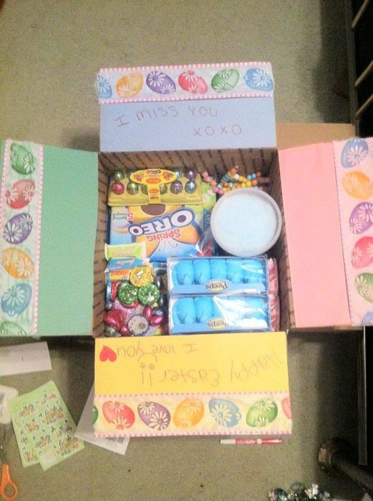 Diy easter care package idea great for missionaries dailylds diy easter care package idea great for missionaries dailylds lds negle Images