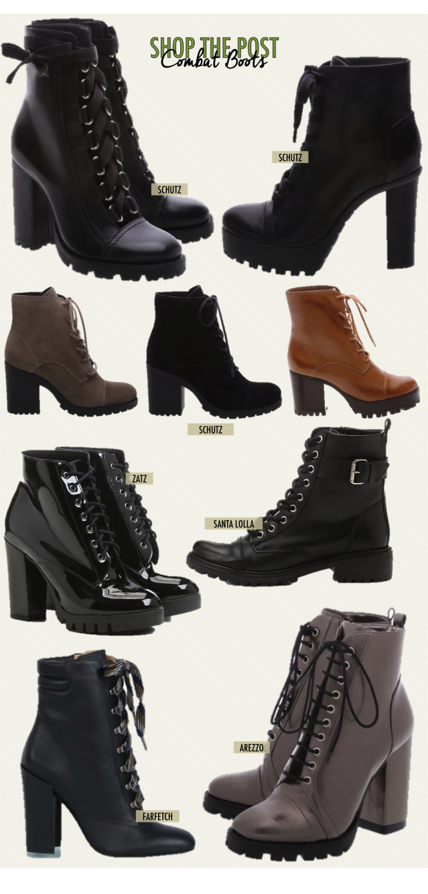 a7d2bc2df 22 Formas de usar Combat Boots Bota Tipo Coturno, Bota Veludo, Bota Coturno  Feminina