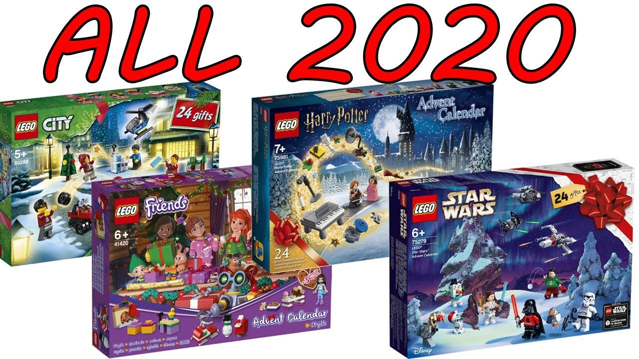 All Lego 2020 Advent Calendars Officially Revealed In 2020 Star Wars Advent Calendar All Lego Lego War