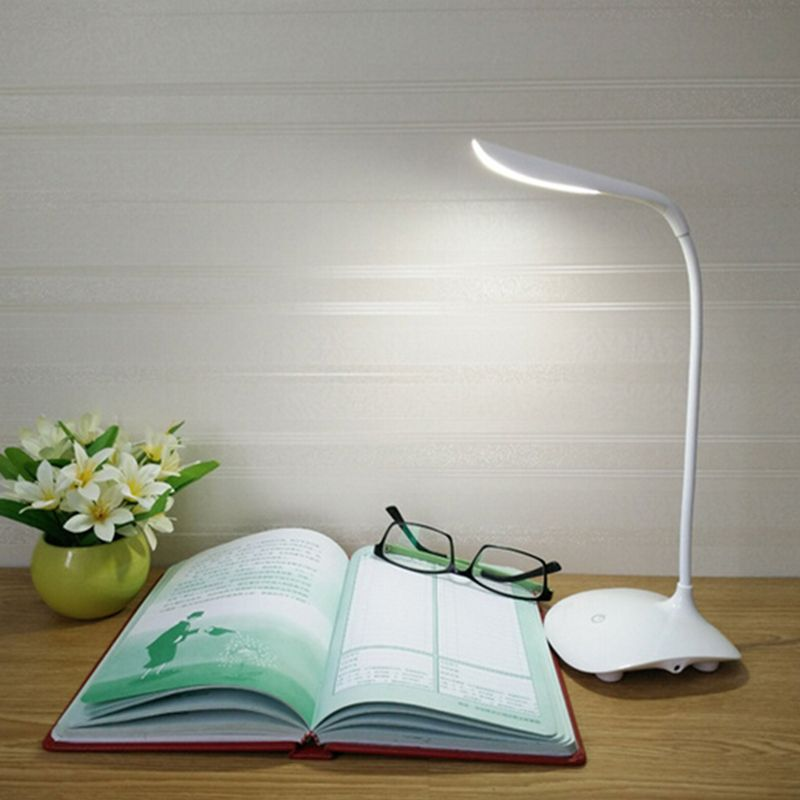 Fashion Adjustable Usb Rechargeable Led Desk Table Lamp Light With Clip Touch Switch Dimmable Student Lamp P28 Led Table Lamp Led Desk Lamp Lamp