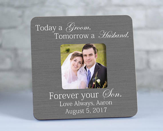 Mother Of Groom Gift Mother Of The Groom Frame Today A Groom