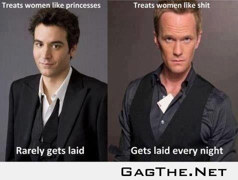 Treating Women Like Sh!t VS Like A Princess