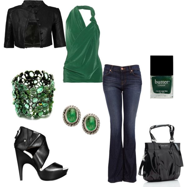 Emerald Green...perfect for a night out!!
