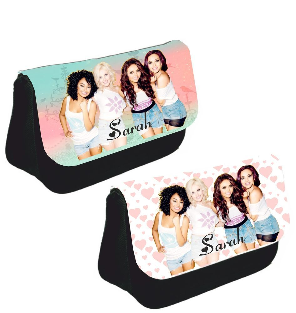 Personalised Little Mix Pencil Case Make Up Bag School Xmas Birthday Gift Girls