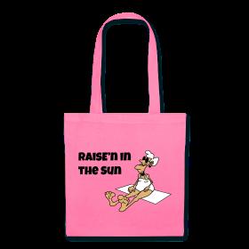 Raise'n in the Sun Cotton Bag. Original and Creative Design.