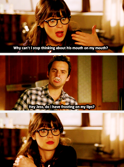 New Girl Meme : Mouth, Quotes,, Memes,, Humor