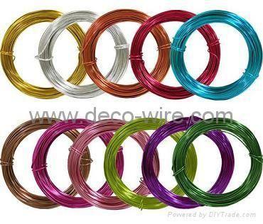 anodized aluminum wire, floral wire, florist wire  Model:- Brand:deco-wire. c o m Origin:Made In China