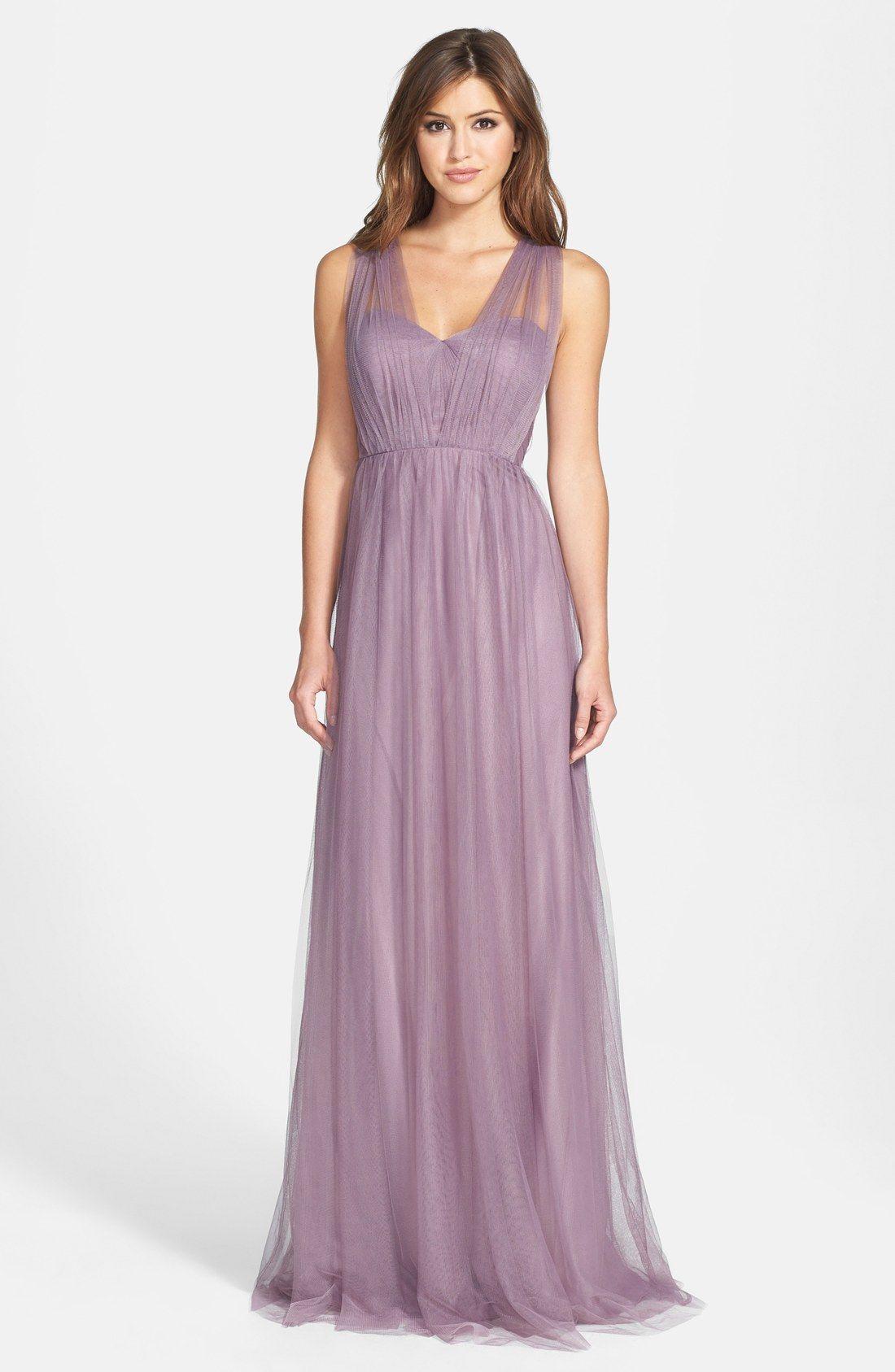 Annabelle Convertible Tulle Column Dress | Dügün und Hochzeitskleider