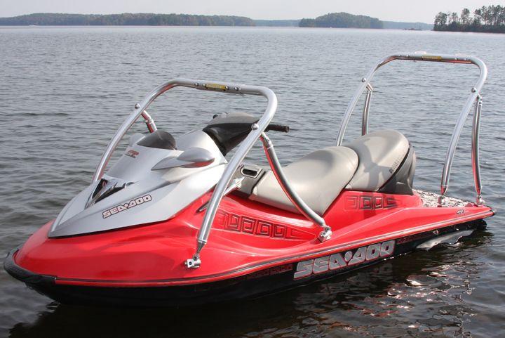 Pwc fishing arch for jet ski fishing kayaking fishing for Fishing jet ski