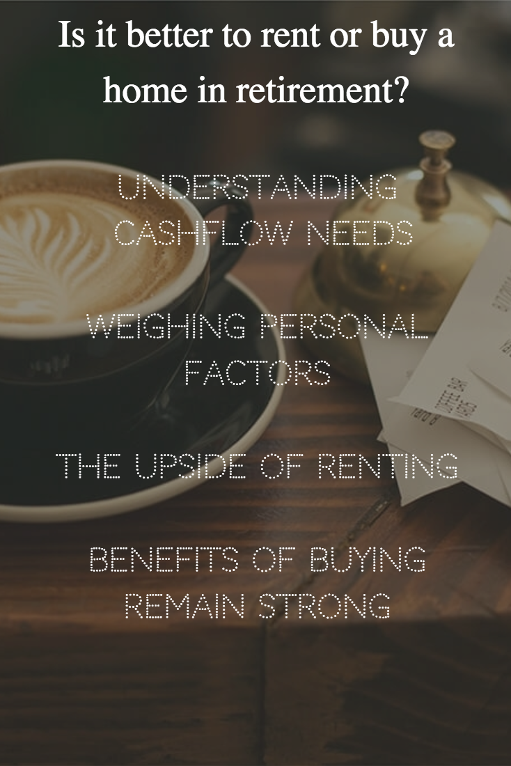 When You Get Into Retirement You Might Be Wondering This Question Should I Buy A Home Or Simply Rent One It S A Tough Question Home Buying Rent Credit Union