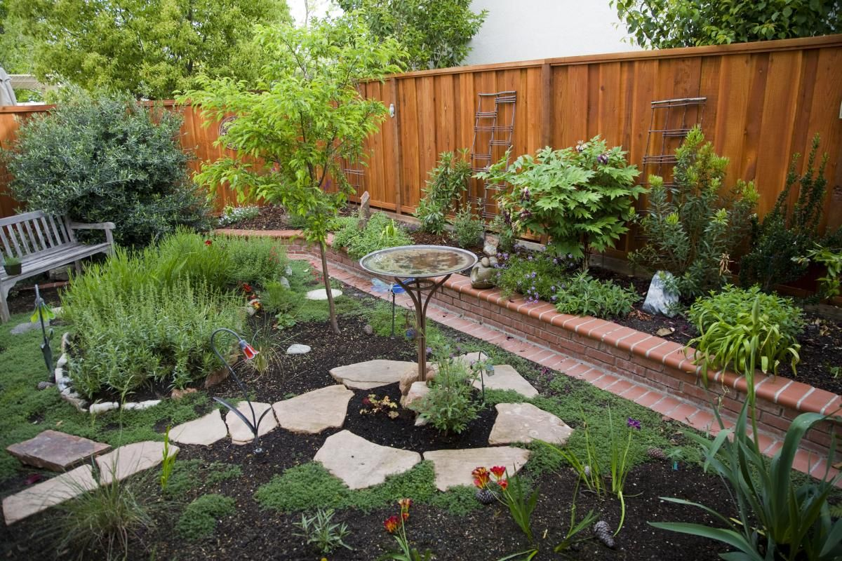 Photos of water efficient landscapes yahoo search for Water garden ideas