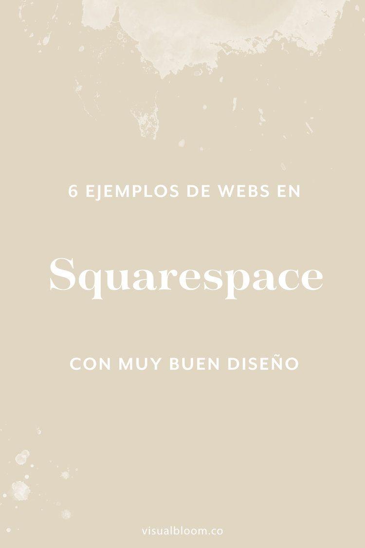 6 sitios web con personalidad (en Squarespace)