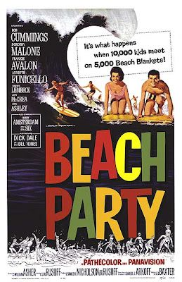 BEACH PARTY TRAILER 1963 ANNETTE FUNICELLO FRANKIE AVALON | Hollywoodland Amusement And Trailer Park