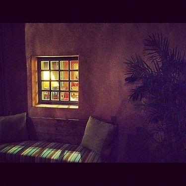 Royal Palms Resort at the base of Camelbabk Mt. as darkness settles.