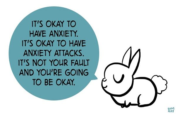 A Tumblr Blog Featuring Adorable Illustrated Animals Offering Comforting Advice
