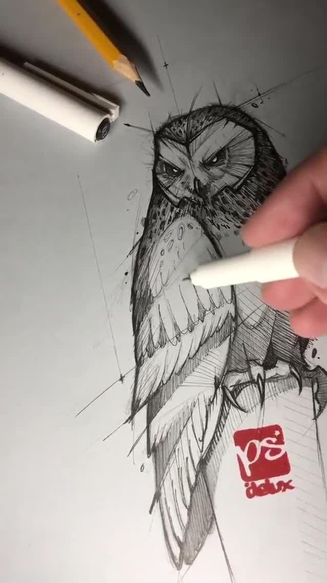 Pencil Sketch Artist Psdelux - Drawing
