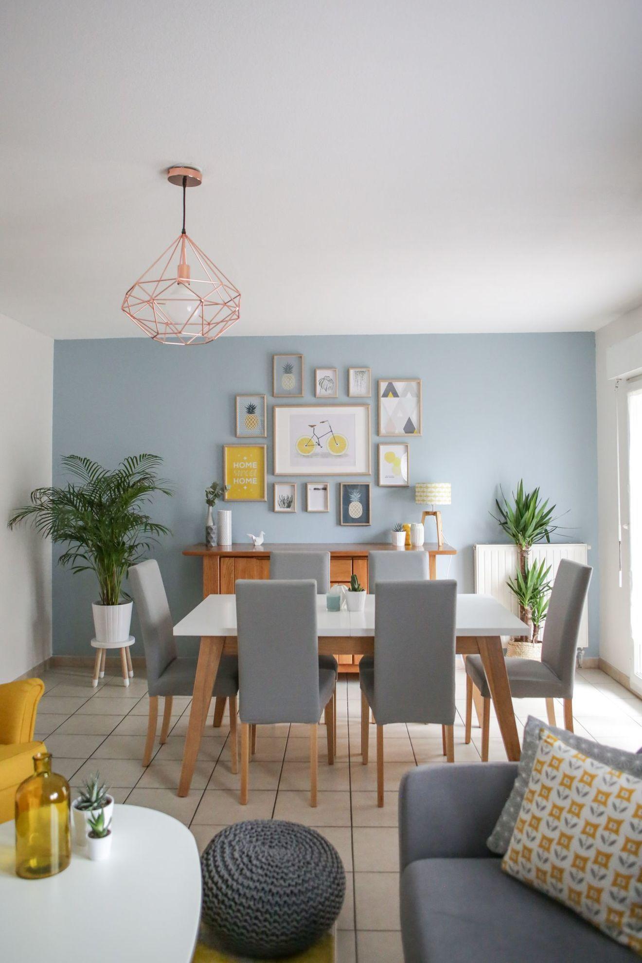 Salle à manger ouverte sur le salon : idées déco et inspiration | Déco salle à manger, Idee deco ...