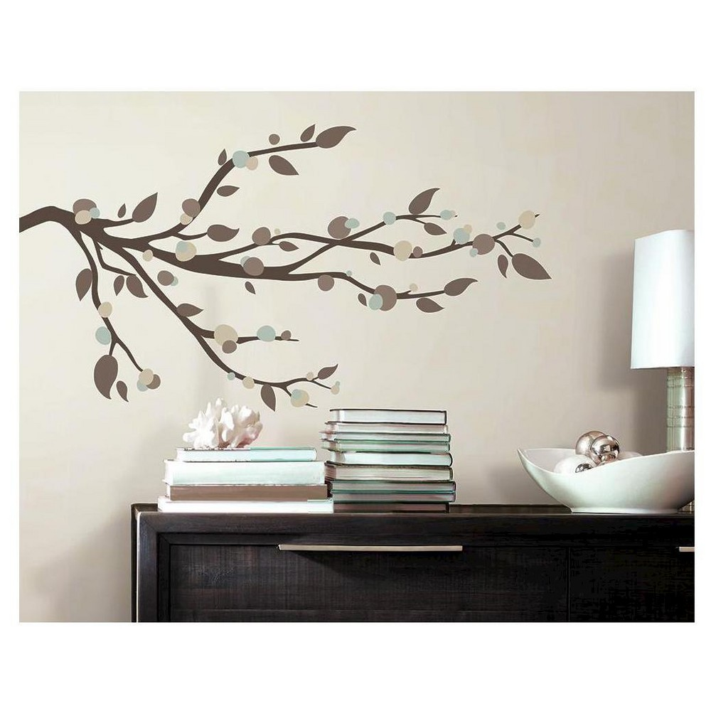RoomMates Mod Branch Peel and Stick Wall Decals,