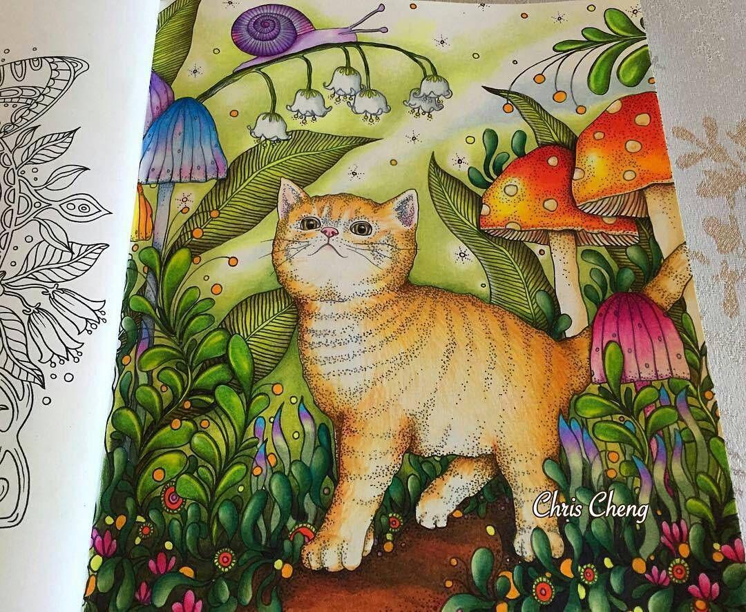 Pin de Sharlene Lam en Hanna Karlzon coloring books pics | Pinterest ...