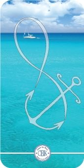 Infinity Anchor Design at www.casesbykate.com. Visit our store and check out the Infinity Category...