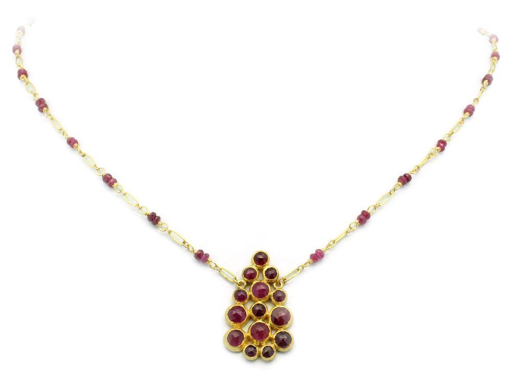 Gurhan 24k One-of-a-Kind Ruby Pendant Necklace rCB5cMb