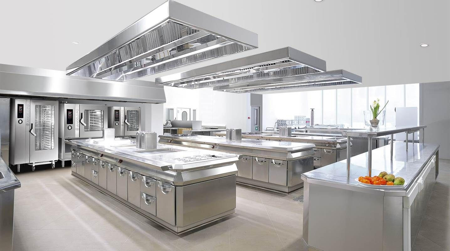 Cucine Professionali Per Ristoranti - Angelo Po | Homes | Pinterest ...