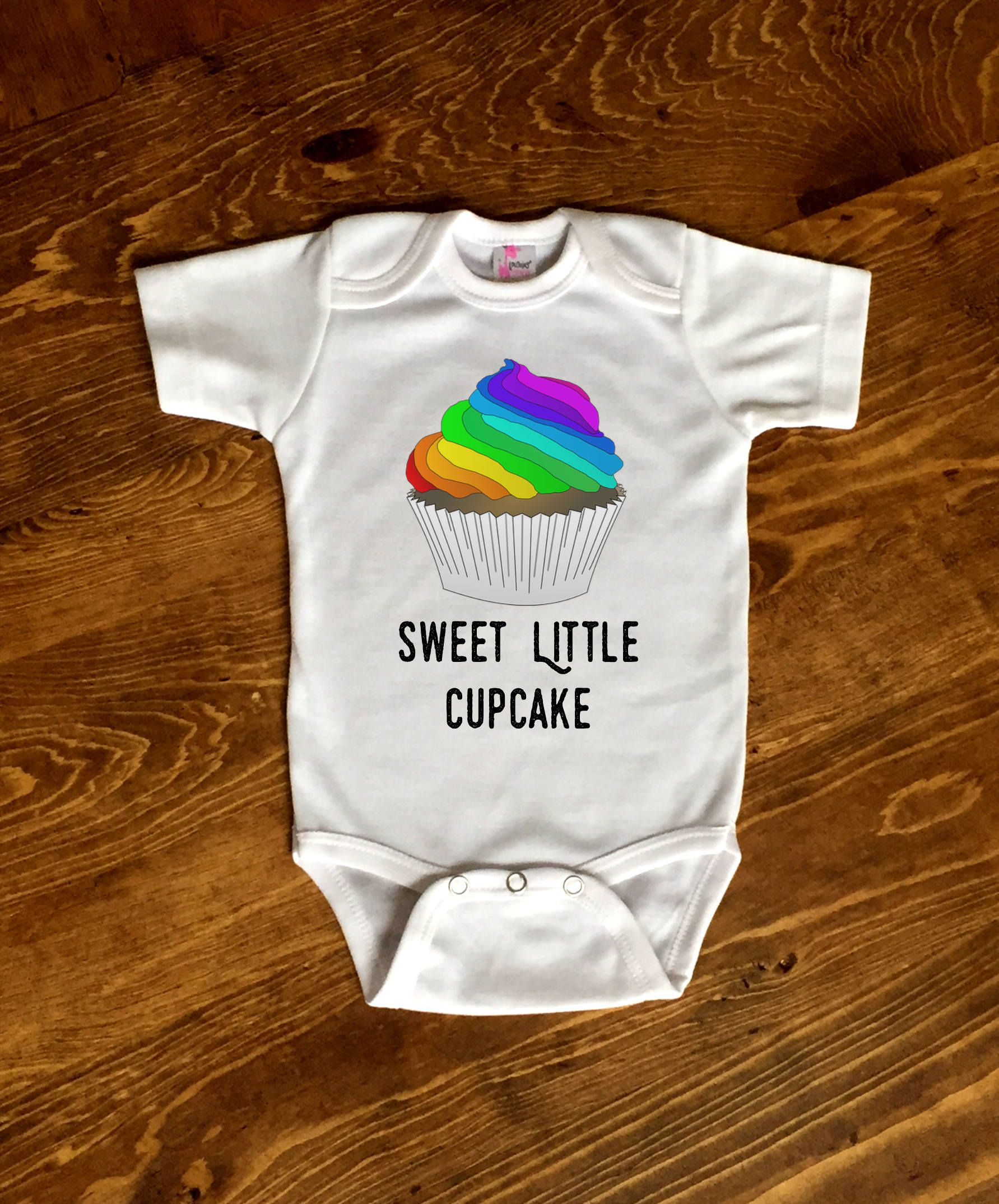 866130820 Cupcake Baby Clothes, Cupcake Baby Shower, Funny Baby Girl, Sweet Baby  Girl, Rainbow Baby Outfit, Rainbow Baby Gift, Sweet Little Baby Gift by ...