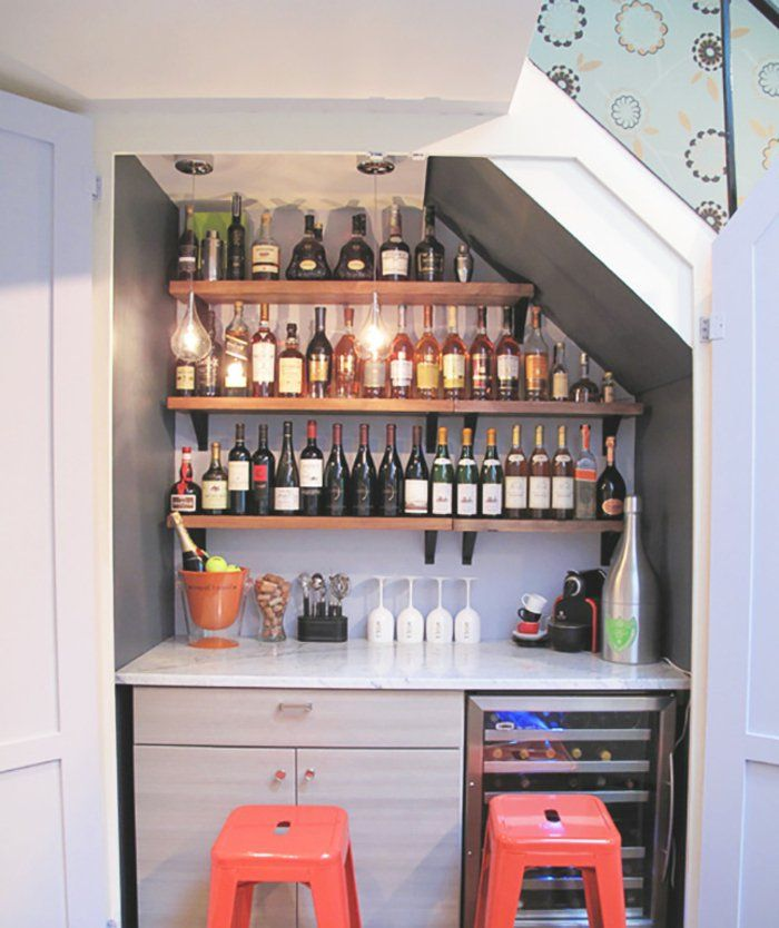 Quel Meuble Sous Escalier Choisir For The Home Bar