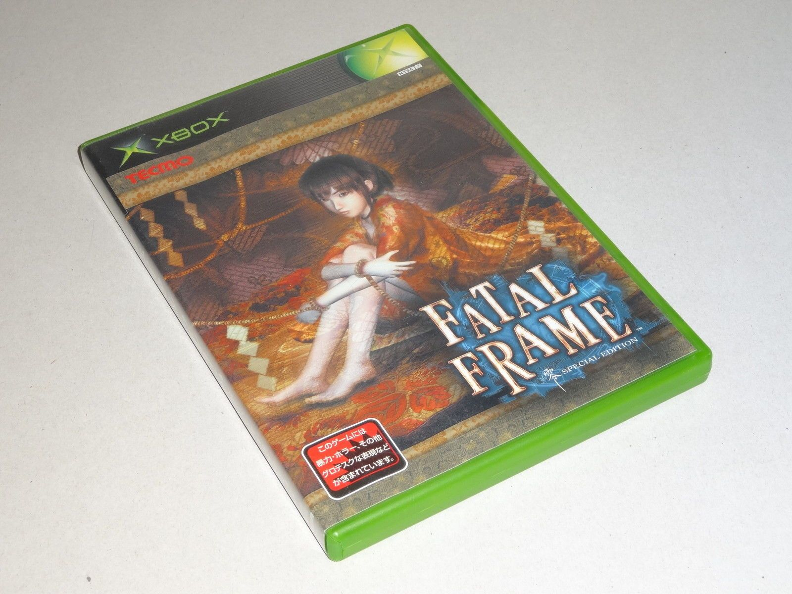 XBOX - Fatal Frame Special Edition (RARE!!!) - JAPAN JP | Video ...