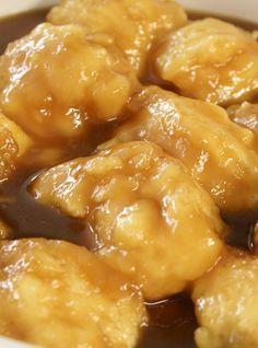 Maple Syrup Dumplings (Grands-Pères)