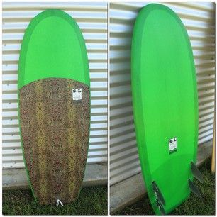 Mini Simmons Sealegged quad shaped by Az Frost #surfboards #surfing