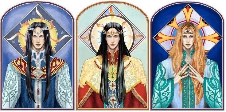 Feanor ve Fingolfin | Orta Dünya Middle Earth Bilgi ...