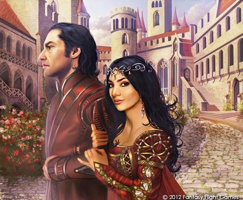 Prince Oberyn Martell and Ellaria Sand