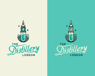 The Distillery London Logo Design Inspiration | #logo #design #inspiration #icon #gallery #logotype #identity #branding