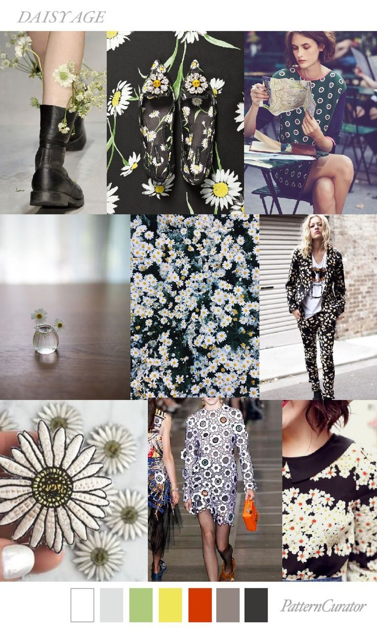 TRENDS // PATTERN CURATOR - DAISY AGE . SS 2018 (FASHION ...