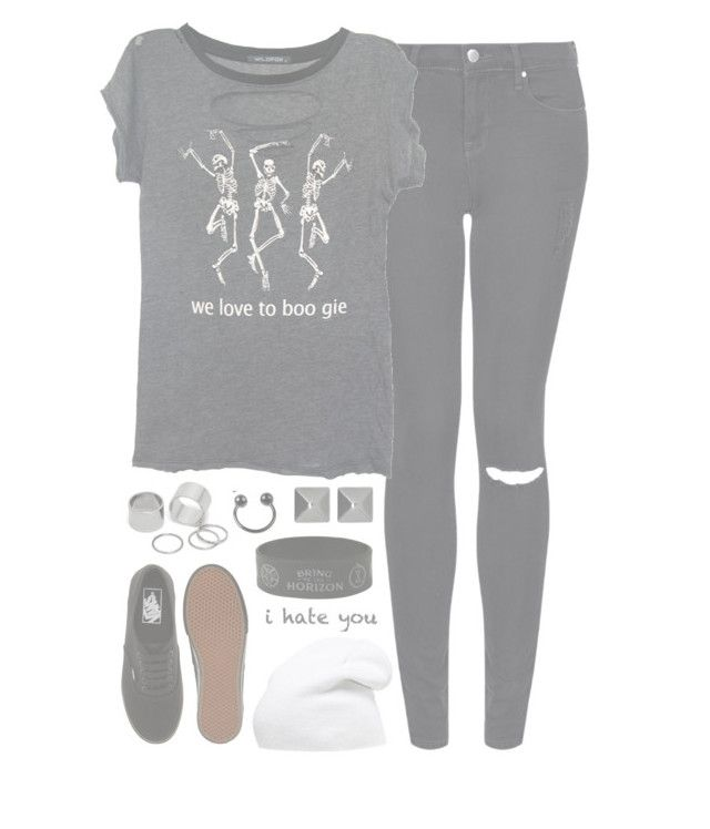 """""""//YouDontLoveMeLikeYouShould//"""" by alex-bows ❤ liked on Polyvore featuring Topshop, Wildfox, Phase 3, Vans, Witchery and Pieces"""