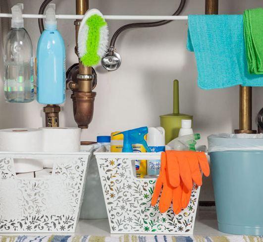 C mo ordenar bajo el fregadero mi casa organizada - Como limpiar y ordenar la casa ...