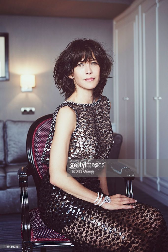 Actress Sophie Marceau is photographed for Self Assignment