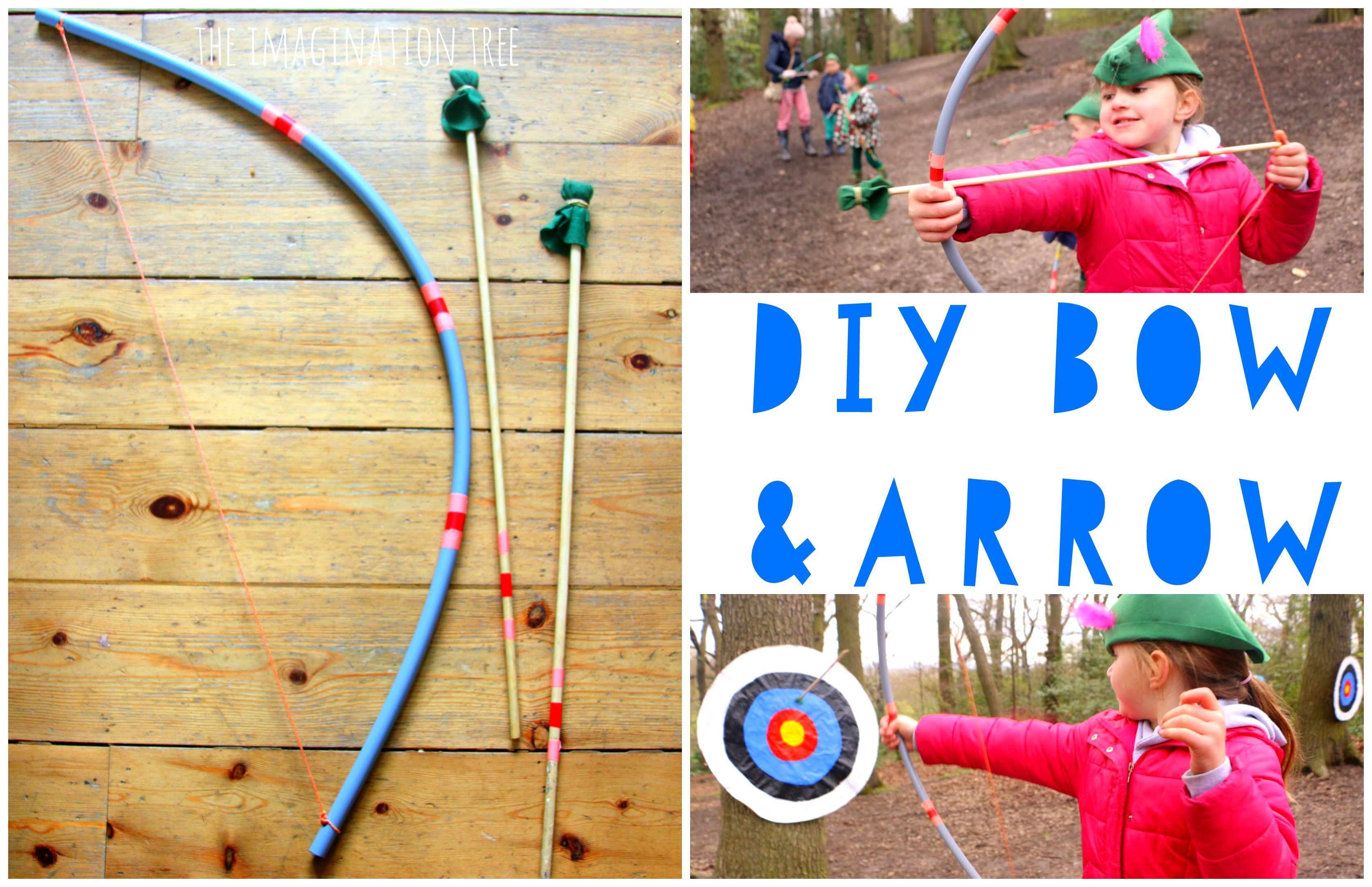 Make a DIY bow and arrow for kids to play imaginative games, practise target shooting and improve their gross motor skills! So easy to make and fantastic quality to give as a homemade gift too. This wonderful idea is submitted by my lovely friend Tineke, [who also contributed the fantastic conker spiderweb craft a couple...Read More »