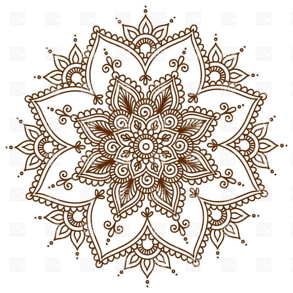 mandalas flower - Pesquisa Google #mandala