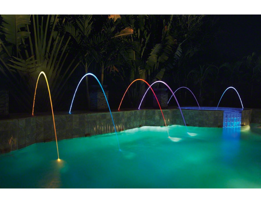 Pentair Magicstream Laminar Led Gray Lid 12v 100 Foot Cable 580001g Pool Fountain Swimming Pool Fountains Pool Water Features