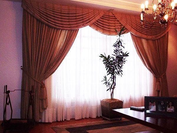 Modelo de cortinas para sala imagui deco hogar for Ver modelos de cortinas