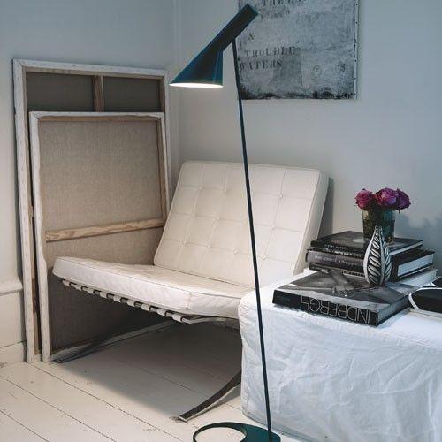 The AJ lamp collection was designed by Arne Jacobsen in 1960 for the SAS Royal Hotel in Copenhagen (Radisson Blu). http://www.yliving.com/louis-poulsen-aj-floor-lamp.html
