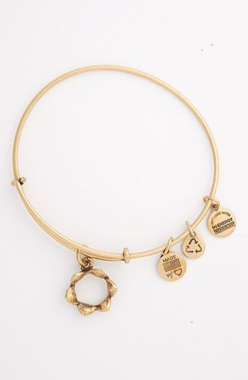 Alex And Ani Queen S Crown Expandable Wire Bangle
